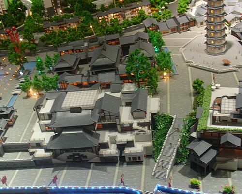文峰古街建筑模型制作