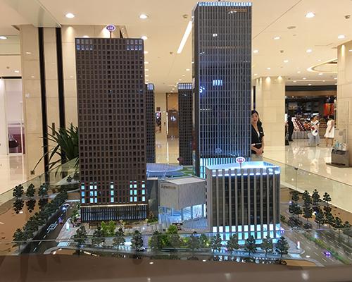 重庆协信中心建筑模型制作