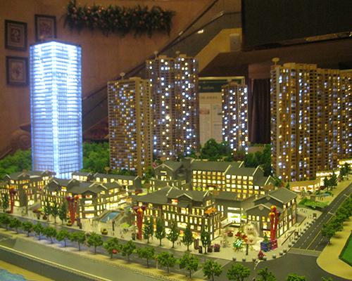 重庆珠江太阳城建筑模型
