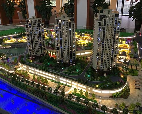 遵义东欣彩虹城模型制作