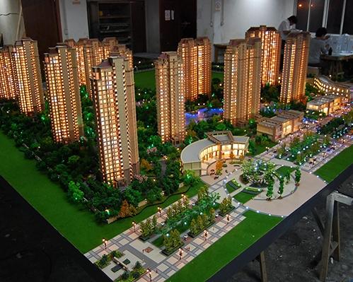 武汉爱家皇家公馆模型制作