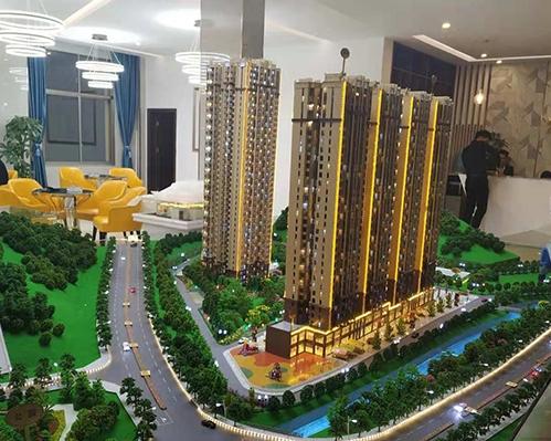 温泉凤凰城模型制作