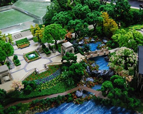金地·绍兴柯桥自在城模型制作