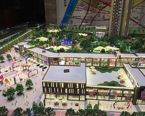 赤水龙景中央国际模型制作
