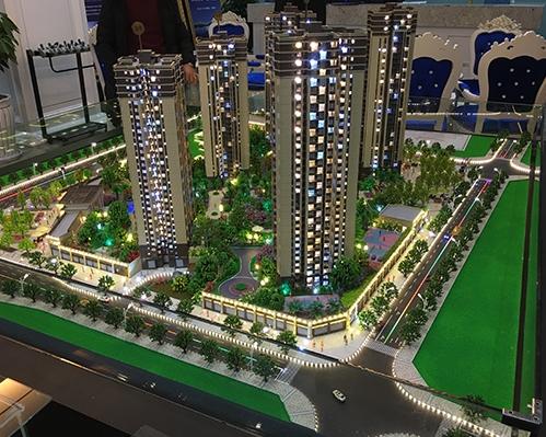 南国香榭模型制作案例
