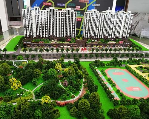 七星江湾小区模型制作