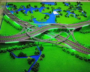立交互通高速路模型制作