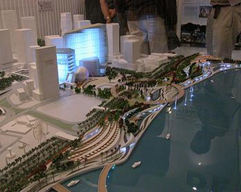 公共建筑楼模型