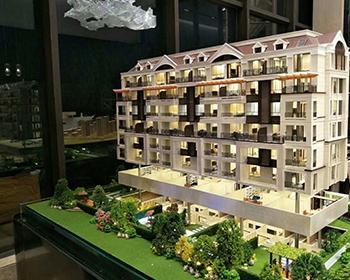 别墅单体升降模型制作