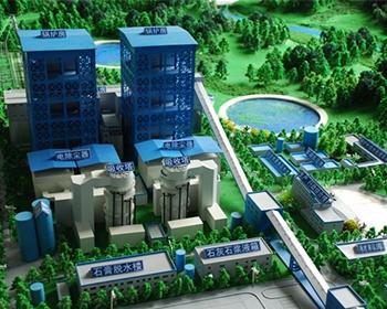 机械建筑模型