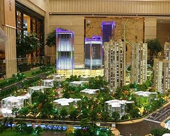 水晶建筑模型