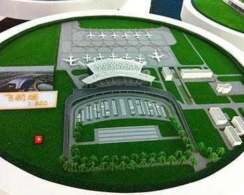 公共场所模型制作