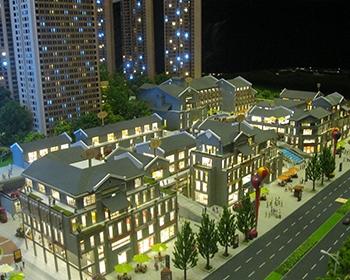 珠江太阳城建筑模型