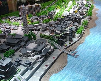 文峰古街建筑模型