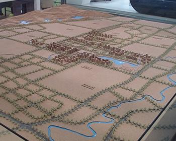 富力城--大学城规划模型