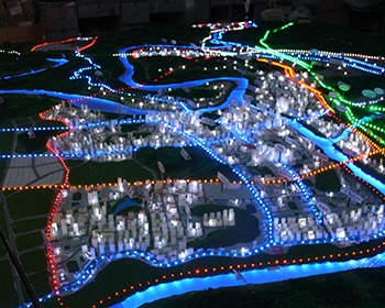合川城北规划模型