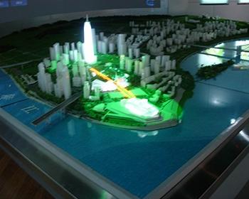 江北城规划模型
